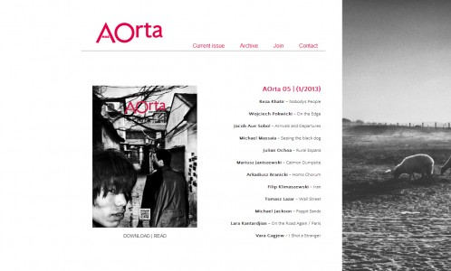 AOrta magazine Issue 5
