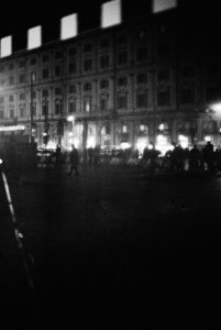 4.6 35mm film - night pulse ROME