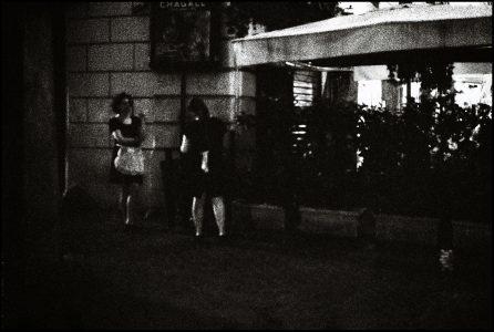 night pulse - street reflect Rome